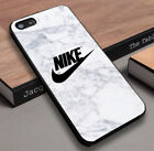 NEW 666-Nike Marble Logo For Iphone 7 7 Plus 8 8 Plus X Case Cover
