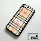 New Burberry99 Inspired Pattern Case For Iphone 7 7 Plus 8 8 Plus X Case Cover