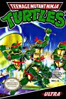 RGC Huge Poster - Teenage Mutant Ninja Turtles BOX ART Nintendo NES - TMNT01