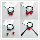 Sale Women Korean Beauty High Elastic Cherry Pearl Hair Ring Hairband 4Styles