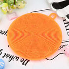 Silicone Dish Washing Sponge Scrubber Kitchen Cleaning antibacterial Tool New rt