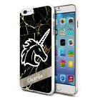 Black Marble Unicorn 145 - Personalised Custom Phone Case Cover For Mobiles