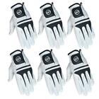 SG 3 Or 6 Pack White 100% Cabretta Leather Men golf gloves LEFT RIGHT hand S-XXL