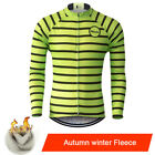 Men Team Top Cycling Long Sleeve Bicycle Jersey Racing Clothing Sport Wear Shirt