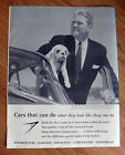 1959 Plymouth Dodge Chrysler Imperial Ad The Man who Knows Good Piece of Work