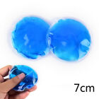 2X Round Reusable Ice Cold Hot Gel Pack Therapy Microwaveable Heat Pain ReliefEF