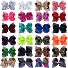 8 inch Large Big Sequin Hair Bow Alligator Clips Headwear Girl Hair Accessories