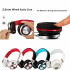 Foldable Headphone Wired Stereo Mic Headset for iPhone X 10 8 7 Samsung S8 S7