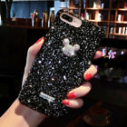 Fashion Diamond Glitter Shining Powder Phone Case Cover For iPhone X 6S 7/8 Plus