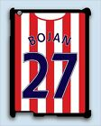 IPAD MINI REAR COVER CASE for STOKE CITY FOOTBALL FAN personalised shirt type