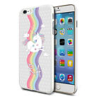 Grey Rainbow Unicorn Cute Personalised Custom Phone Case Cover For Mobiles