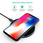 Qi Wireless Charger Pad Portable Wireless Charging station for iPhone Samsung...