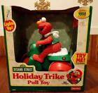 ELMO Holiday Trike Pull Toy TYCO TOYS 1998 NEW IN BOX RARE Sesame Street Lights