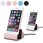 Original Desktop Charger sync dock stand charge Cradle for iPhone X 5 6 S 7 8