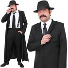 MENS DETECTIVE COSTUME HARDBOILED BOOK CHARACTER FANCY DRESS OUTFIT FILM NOIR
