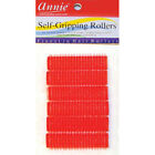 ANNIE SELF-GRIPPING ROLLERS 1309, 6 COUNT RED SMALL 1/2""