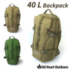 40L Military Backpack Rucksack Army Tactical Bag Water Repellent Hiking Camping