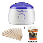 300g Hard Wax Beans Hot Wax Warmer Heater Machine For Painless Hair Removal CA