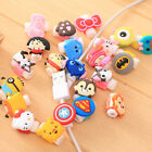 Cartoon Protector Saver Cover For mobile Phone Headphone USB Charger Cable Cord
