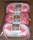 Lot of 3 Skeins Deborah Norville Serenity Garden Yarn,  2.29 oz ea,  U Pick Color