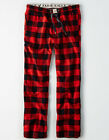 American Eagle Mens PAJAMA LOUNGE PANTS Red Buffalo Check Sz M or L - NWT
