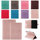 Embossing Wallet Flip PU Leather Stand Case Cover For iPad 3 4 Air Mini New Pro