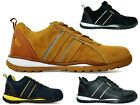 New Men Safety Light Weight Lace Up Soft Cushioned Boots UK Size 6-12