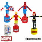 Marvel Comics Wooden Push Puppets Entertainment Earth NEW Various Characters Toy