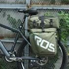 Bicycle Waterproof Travel Pannier Rear Seat Detachable Trunk Bag New