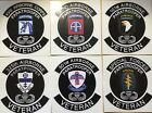 US ARMY AIRBORNE & INFANTRY DIVISION UNITS 3&4 INCHES WATERPROOF DECALS STICKERS