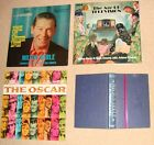 SIGNED Milton Berle LP's: Songs Mother Loved/Age of TV/The Oscar + Autobiography