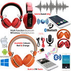 Wireless Bluetooth Mobile Hand-free Answer Call Listen to Music Headset Earphone