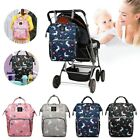 FASHION Mummy Backpack Changing Bag Large Multi-functional Baby Nappy Diaper Bag