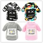 Puppy Pet Dog Cat Winter Hooded Coat Camouflage Hoodie Sweater Coat Clothes US