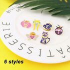 Sailor Moon Girls Enamel Pin Brooch Shirt Collar Accessory Likely Jewelry Gift