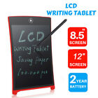 """8.5""""/12'' LCD Writing Pad Notepad Electronic Drawing Tablet Graphics Board"""