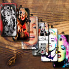 Merilyn Monroe Black Singer UV Thin case cover Samsung Galaxy J&A (2016 & 2017)