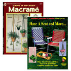 Hang it Up & Have a Seat DIY Crafting Weaving Knotting Macrame Books