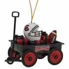 """NCAA Team Wagon Ornament New in Factory Packaging Measures 3"""""""