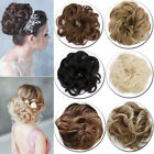 Women Curly Messy Bun Hair Piece Scrunchie Updo Cover Hair Extensions Sale Fg5
