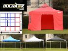 BULHAWK 4x4m 40mm COMMERCIAL GRADE HEAVY DUTY POP UP GAZEBO MARKET STALL MARQUEE