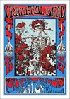 GRATEFUL DEAD POSTER: Vintage Rock Concert Reprint