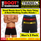 TRADIE MEN'S UNDERWEAR - FITTED TRUNKS  -  'BRIGHTS'  -  3 PACK