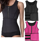 adjustable neoprene sauna slimming waist vest trainer