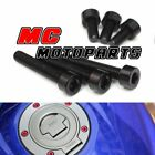 Aluminium Fuel Gas Cap Screw Kits For Triumph Daytona 675 RSV1000 Mille TT600 $17.8 USD on eBay