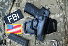 Off Duty Holster for Sig Sauer M11-A1, Leather, Handmade in USA