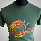The Outpost First Blood Movie Themed Retro T Shirt Rambo Stallone Film Tee green