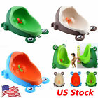 Boy Kids Training Urinal Potty Toilet for Pee Trainer Bathroom Cute Frog Design image