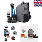 Oxford Cloth Multi-functional Travel Bag Photography Backpack For DSLR Camera