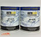 black epoxy primer - Epoxy Primer Surfacer DTM Gallon Kit Car Vehicle Auto Gray, Black, White, or Red